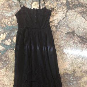 Black Maxi Dress - size Small